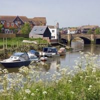 View River Arundel Scene Boat Arun Sussex Boats