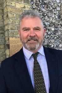 Arundel Town Councillor James Stewart