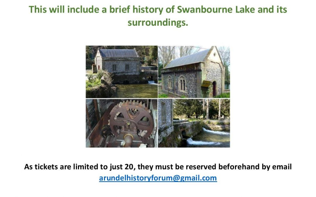 Swanbourne Pump House Guided Tour on 7th October