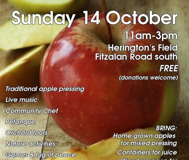 Arundel Community Apple Day – 14th October