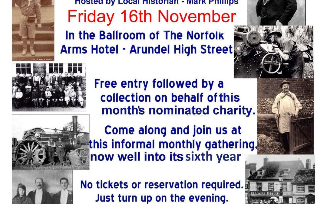 The Arundel Gathering – Friday 16th November
