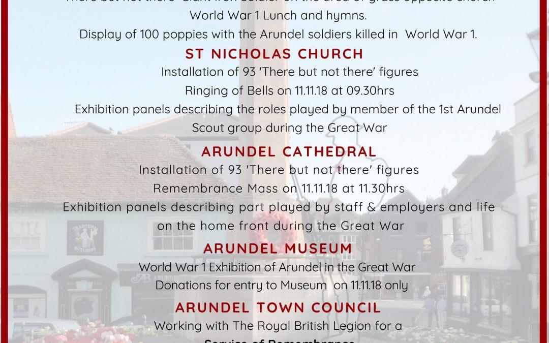 Arundel Remembers 1918-2018
