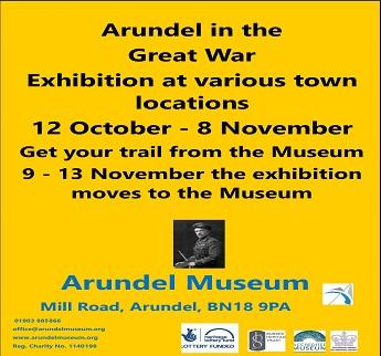 Arundel in the Great War Exhibition