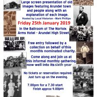 Arundel Gathering Poster - 25th January 2019