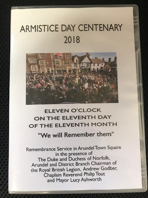 ARMISTICE DAY  – VIDEO FOR SALE