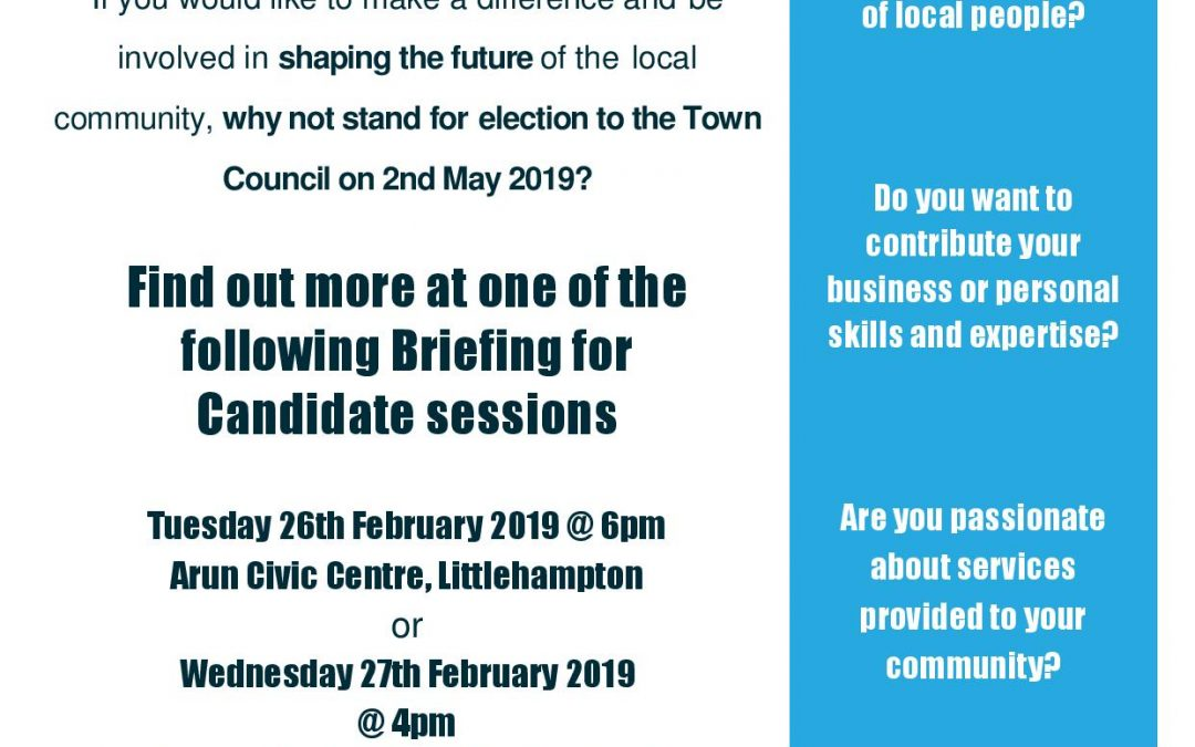 THINKING OF BECOMING A COUNCILLOR?