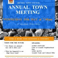 Town Hall Meeting Flyer Template - Made with PosterMyWall