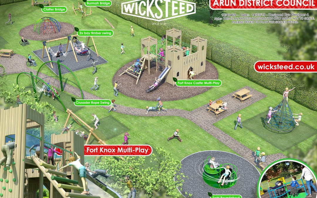 Arundel's Mill Road play area to be transformed into Fort Knox!