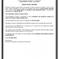 Emergency TTRO Priory Road Arundel (002)-page-001